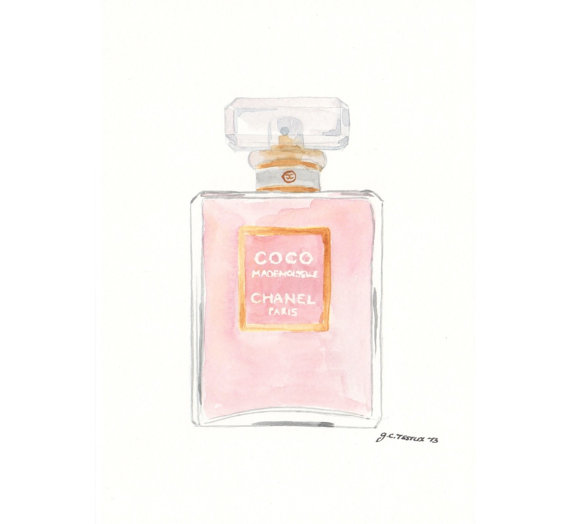 chanel coco mademoiselle eau de parfum from milkfoam my art. Black Bedroom Furniture Sets. Home Design Ideas