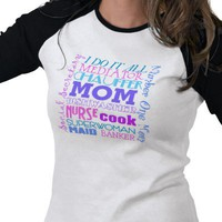 Mom I Do It All Funny T-Shirt from Zazzle.com