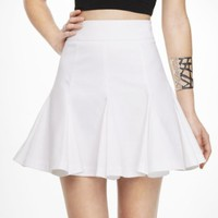 HIGH WAIST FULL SEAMED SKIRT