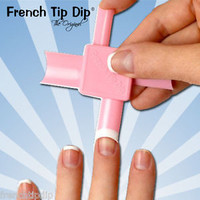 Fastest French Manicure in the World? French Tip Dip Elements USE ANY POLISH! A+