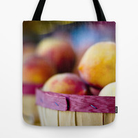 Oh, Peachy! Tote Bag by Ann B.
