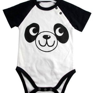 Okutani Panda Onesuit Kids Clothing at Broken Cherry