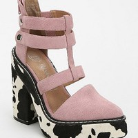 Jeffrey Campbell Freca Cutout Platform Ankle Boot - Urban Outfitters