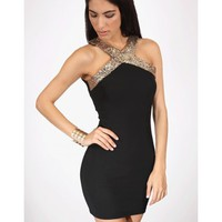 Bodycon Sequin Dress - Kely Clothing