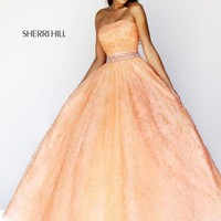 Sherri Hill Prom Dresses and Sherri Hill Dresses 21292 at Peaches Boutique
