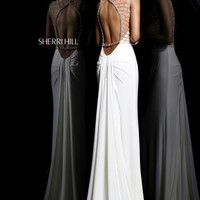Sherri Hill Prom Dresses and Sherri Hill Dresses 11070 at Peaches Boutique