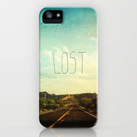 Lost iPhone & iPod Case by Sylvia Cook Photography