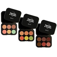 6 Color Concealer & Corrector: Cover Up Flaws & Blemishes- BH!