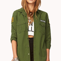Street-Chic Army Shirt