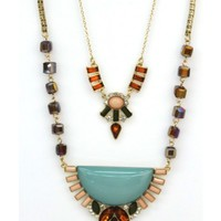 Double Layer Opulent Necklace