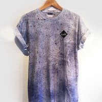 DASH DYE TEE / DARK NAVY