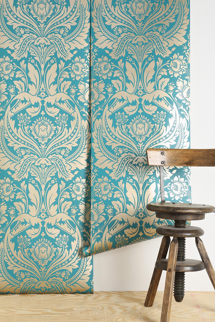 graham brown desire wallpaper urban from urban outfitters. Black Bedroom Furniture Sets. Home Design Ideas