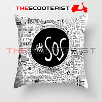 "5SOS Liryc Quote - Pillow Cover 18"" x 18"" - One Side"