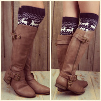 Fox Trot Khaki Riding Boots
