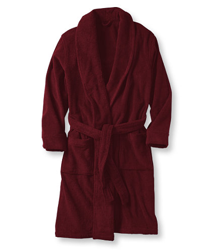Men's Terry Cloth Robe: Sleepwear and from L.L.Bean, Inc. | love