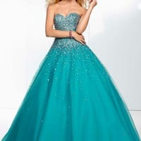 Mori Lee 95008 Prom Dress - PromDressShop.com