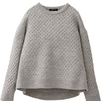 Milled wool pullover|STUNNING LURE|STUNNING LURE online shop