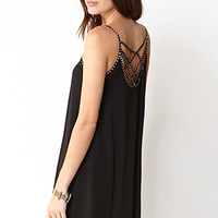 Beaded Shift Dress