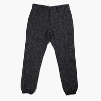 Men's Trouski Heavy Wool Jogger Pant (Black)