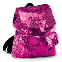 Pink Sequin Dance Backpack; Urban Groove