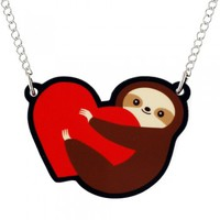 Sloth Love Necklace