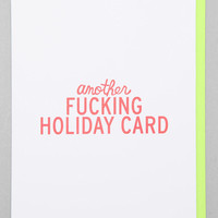 Another Holiday Card - Urban Outfitters