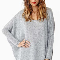 Static Knit - Gray
