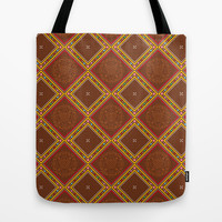 Sweet Ginger Path Tote Bag by swissette