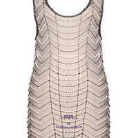 Gatsby Glamour Dress | Beaded Sheer Flapper Shift Dresses | Rickety Rack