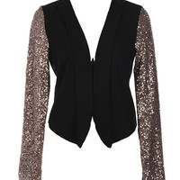 Party Sleeves Blazer | Women's Outerwear | RicketyRack.com