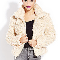 Cool Girl Knotted Shag Jacket
