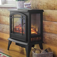 Panoramic Electric Stove Heater - Plow & Hearth