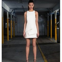 FINDERS KEEPERS Sin City Dress IVORY