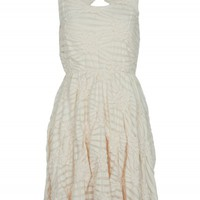 Cream Bow Back Dress | Dresses | Desire
