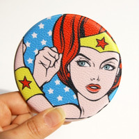 Pop Art Handy Mirror