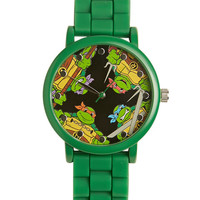 TMNT Rubber Watch