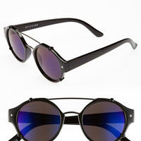Spitfire Flick Sunglasses with Blue Mirror