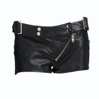 Leather Warrior Hot Pant