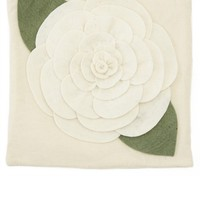 White Rose Pillow Case