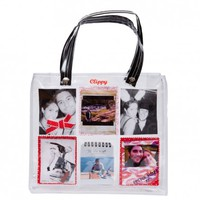 Clippy London Photo Display Bag - small. from Clever Little Ideas Ltd | Made By Clever Little Ideas | £20.00 | BOUF