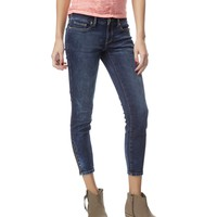Lola Dark Wash Zip Cropped Jegging