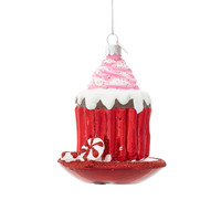 Some of you have to get in on this: Set of 2 Noble Gems Cupcake with Dish Ornaments