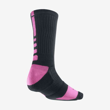 Nike Kay Yow Elite Crew Basketball Socks (Large/1 Pair)