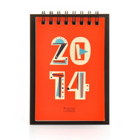 2014 Colorful Cubism Calendar