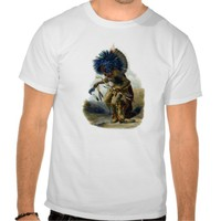 Native American Indians - Moennitarri warrior Shirts