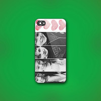 5 Seconds Of Summer ( 5SOS ) - Design Print for iPhone 4/4s Case or iPhone 5 Case - Black or White