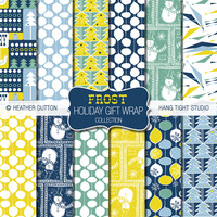 Frost Holiday Gift Wrap Collection | Flickr - Photo Sharing!