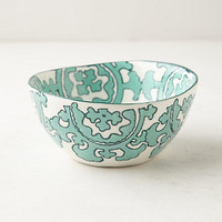 Gloriosa Cereal Bowl by Anthropologie