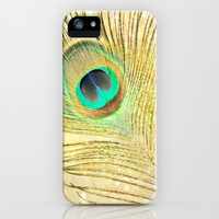 Festive Plumage iPhone & iPod Case by Lisa Argyropoulos