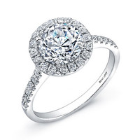 Bony Levy 'Bridal' Pavé Diamond Basket Semi Mount Ring (Nordstrom Exclusive) | Nordstrom